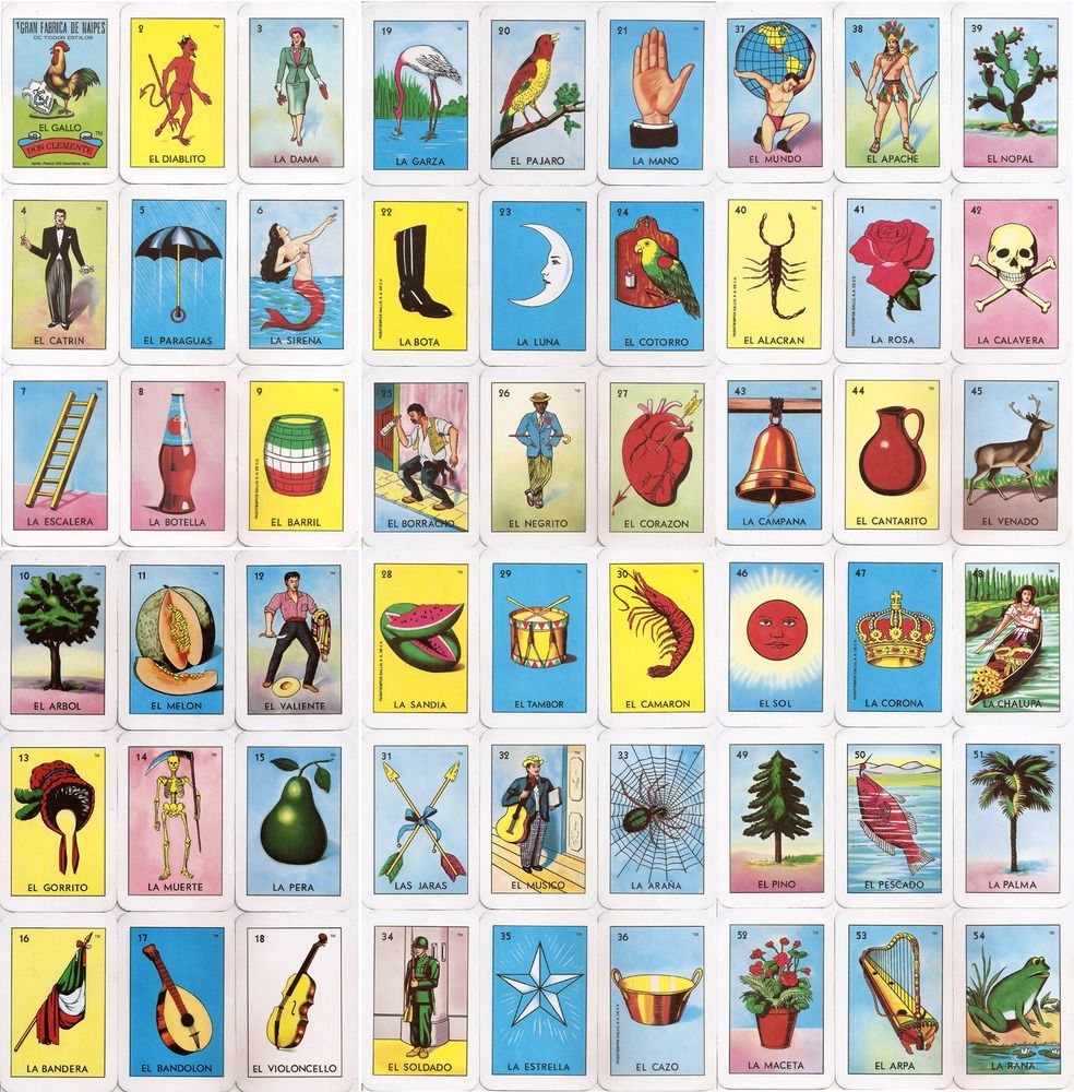 picture about Printable Loteria Mexicana referred to as El Corazon Loteria Card House Makeover Loteria playing cards
