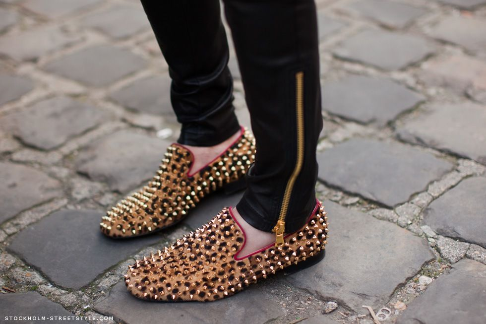 studs and leopard print