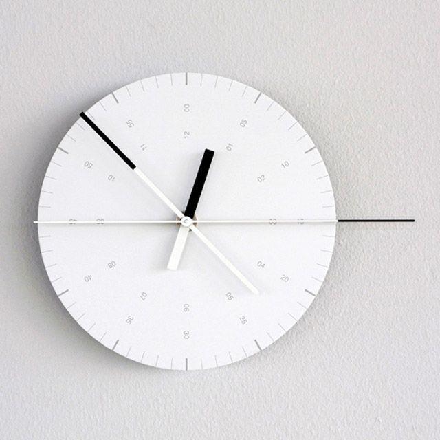 Hundreds Tens Units Wall Clock Black Wall Clock Wall Clock Contemporary Wall Clock