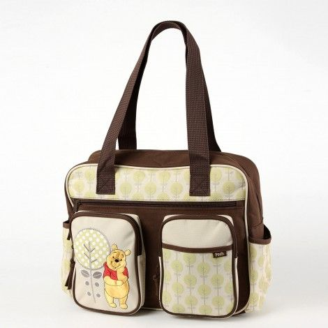 WINNIE THE POOH Large Diaper Bag – Forest Fun