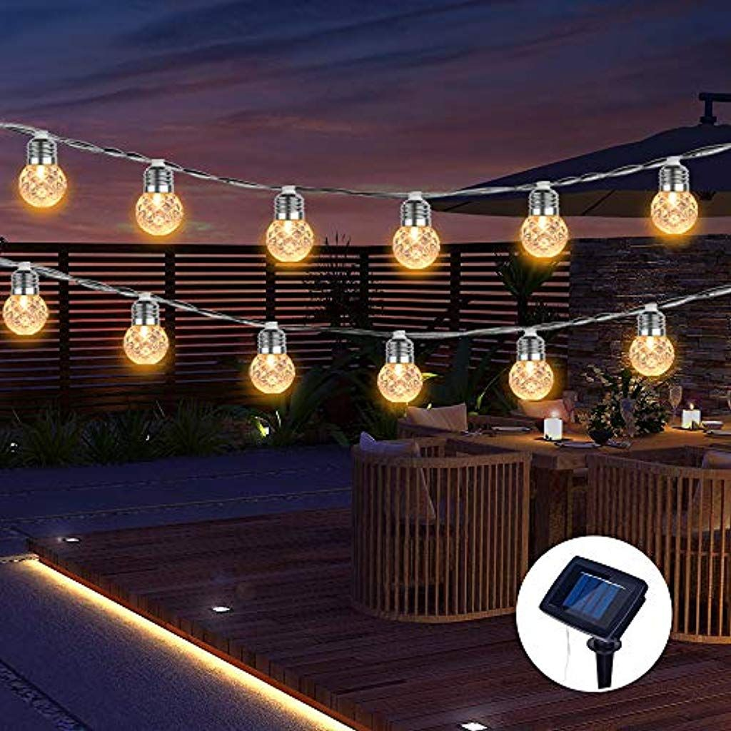 Lichterkette Aussen Ip65 Wasserdicht Solar Lichterkette Aussen 20 Leds Dekorativer Garten Terrasse Haus Party Solar Lichterkette Lichterkette Aussen Lichterkette