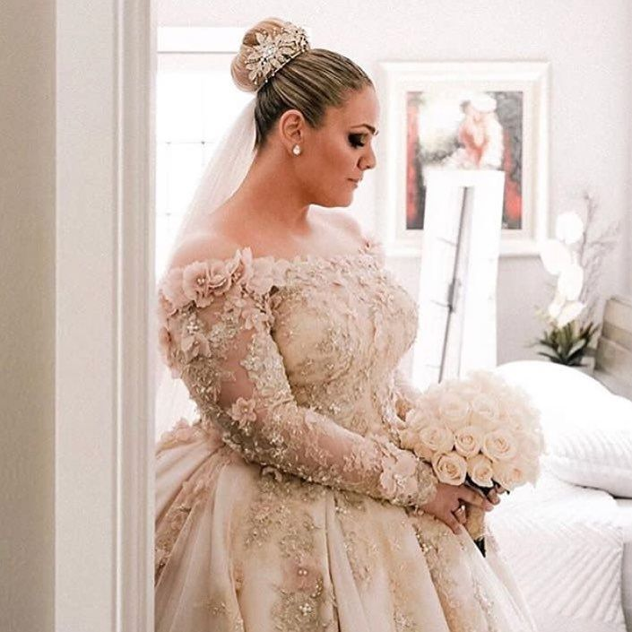 Graceful Cheap Plus Size Boho Wedding Dress In 2020 Plus Wedding Dresses Ball Gowns Wedding Plus Size Wedding Gowns
