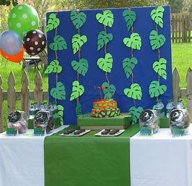 Image Result For Jungle Theme Birthday Decorations