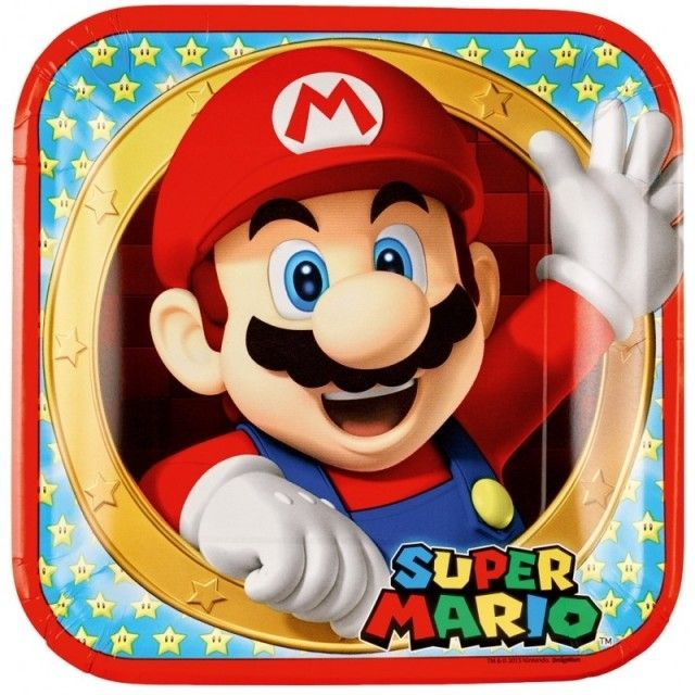 36 Teile Super Mario Party Deko Basis Set Fur 8 Kinder