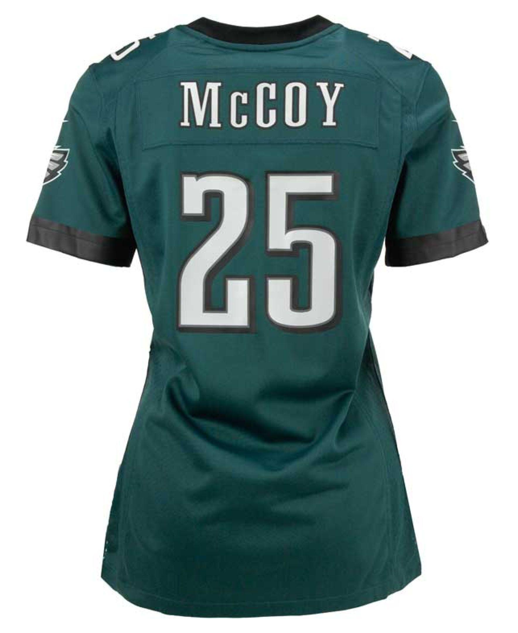 Nike Women s LeSean McCoy Philadelphia Eagles Game Jersey  b9e4d3754