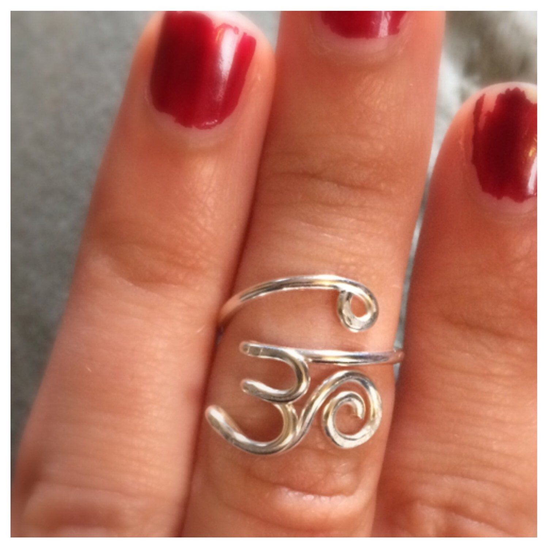 OM Symbol Wire Ring | Draht, Schmuck und Kleidung