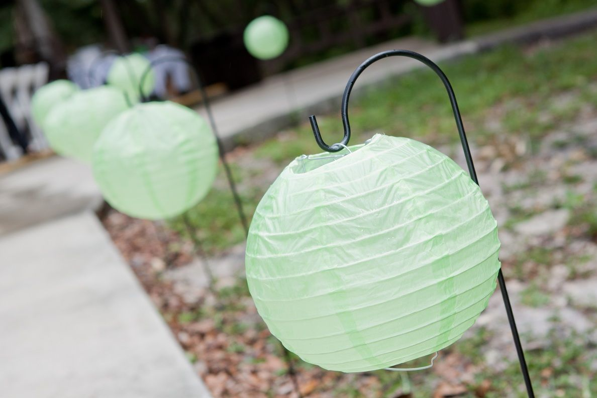 Paper Lantern Walkway Paper lanterns, Zelda wedding