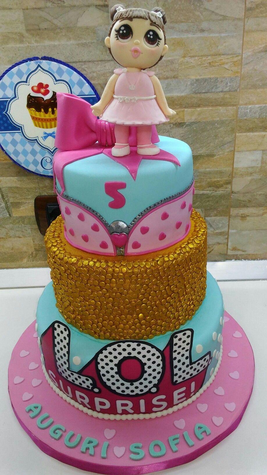 Torta Lol Surprise Lol Surprise cake!