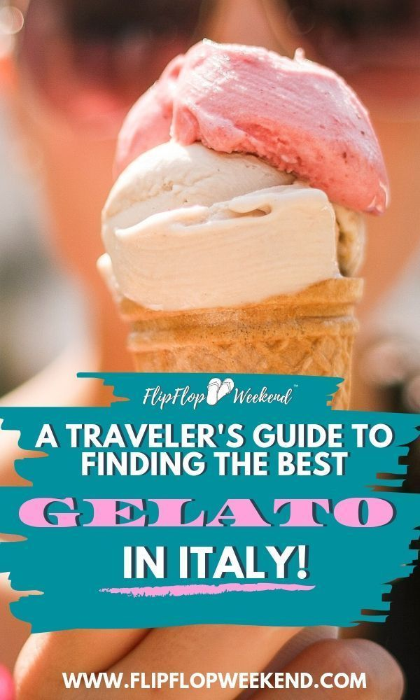 If you are planning to travel to Italy, you will definitely want to take note of the best Gelato shops and how to find the most authentic gelato Italy has to offer. This post highlights some tips on how to find real gelato in Italy, and offers recommendations for Rome, Florence and Venice. #gelato #italy #italytravel #icecream