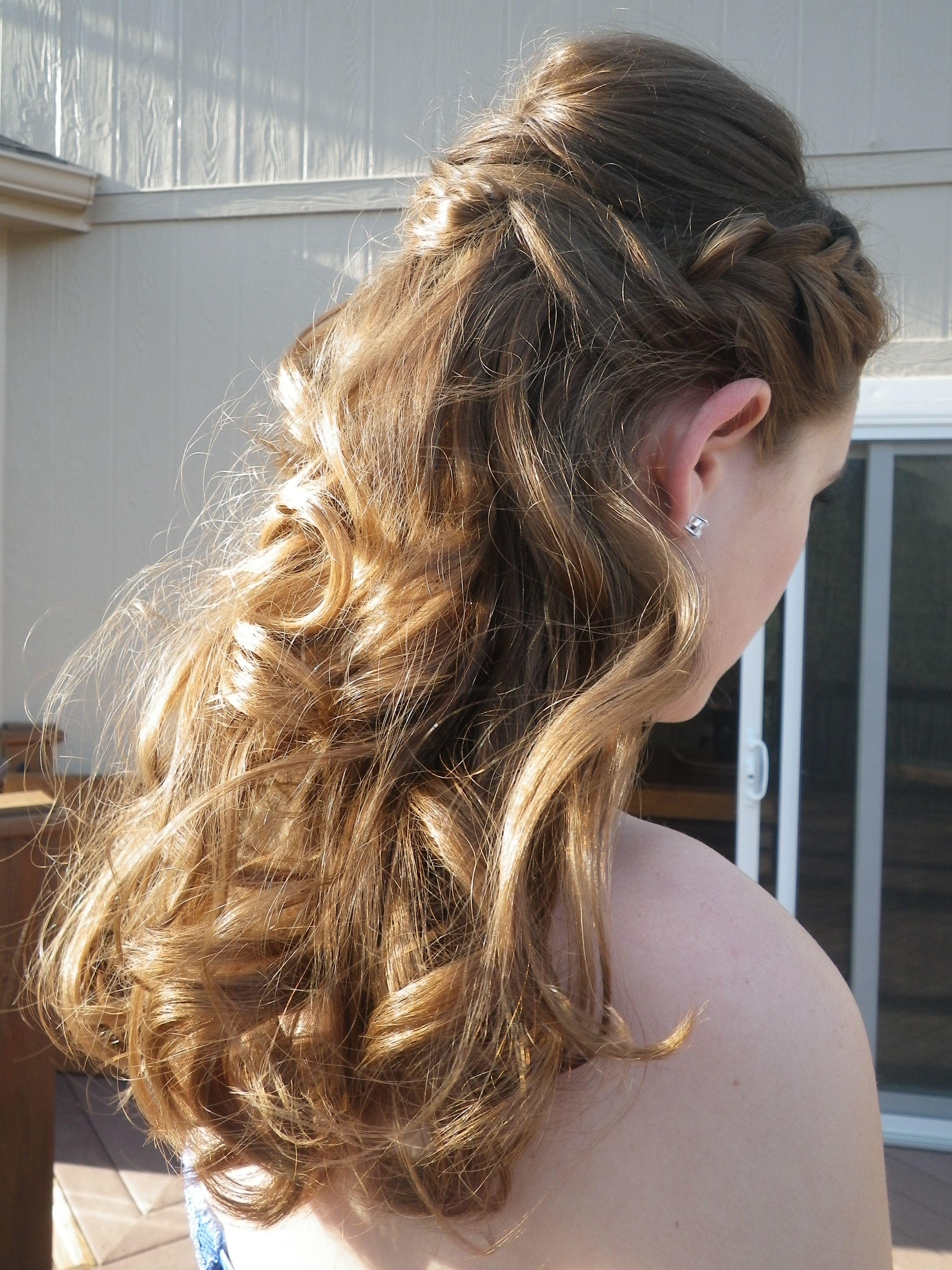 Homecoming wheadband hair pinterest