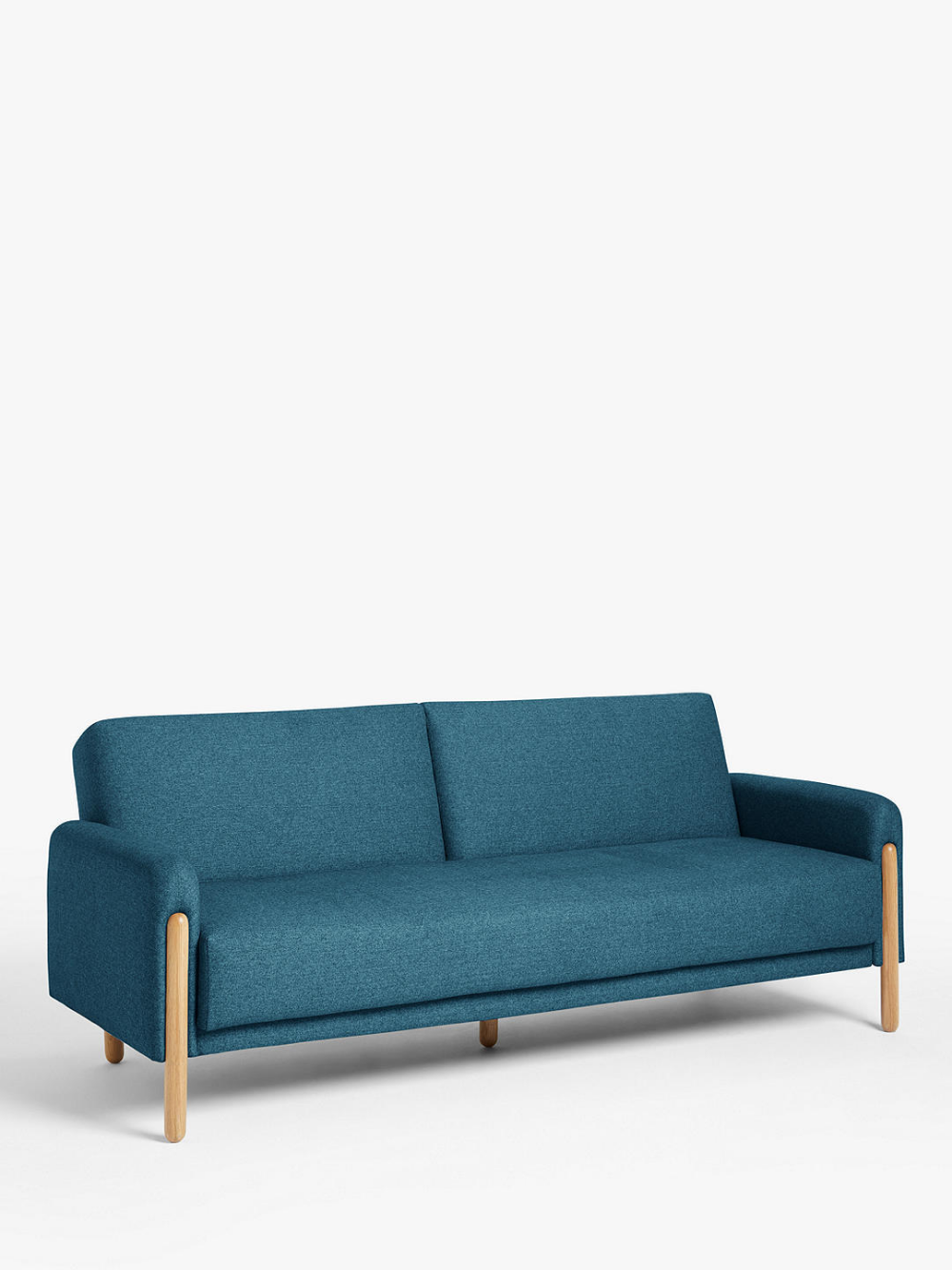 House By John Lewis Show Wood Sofa Bed, Light Leg, Topaz