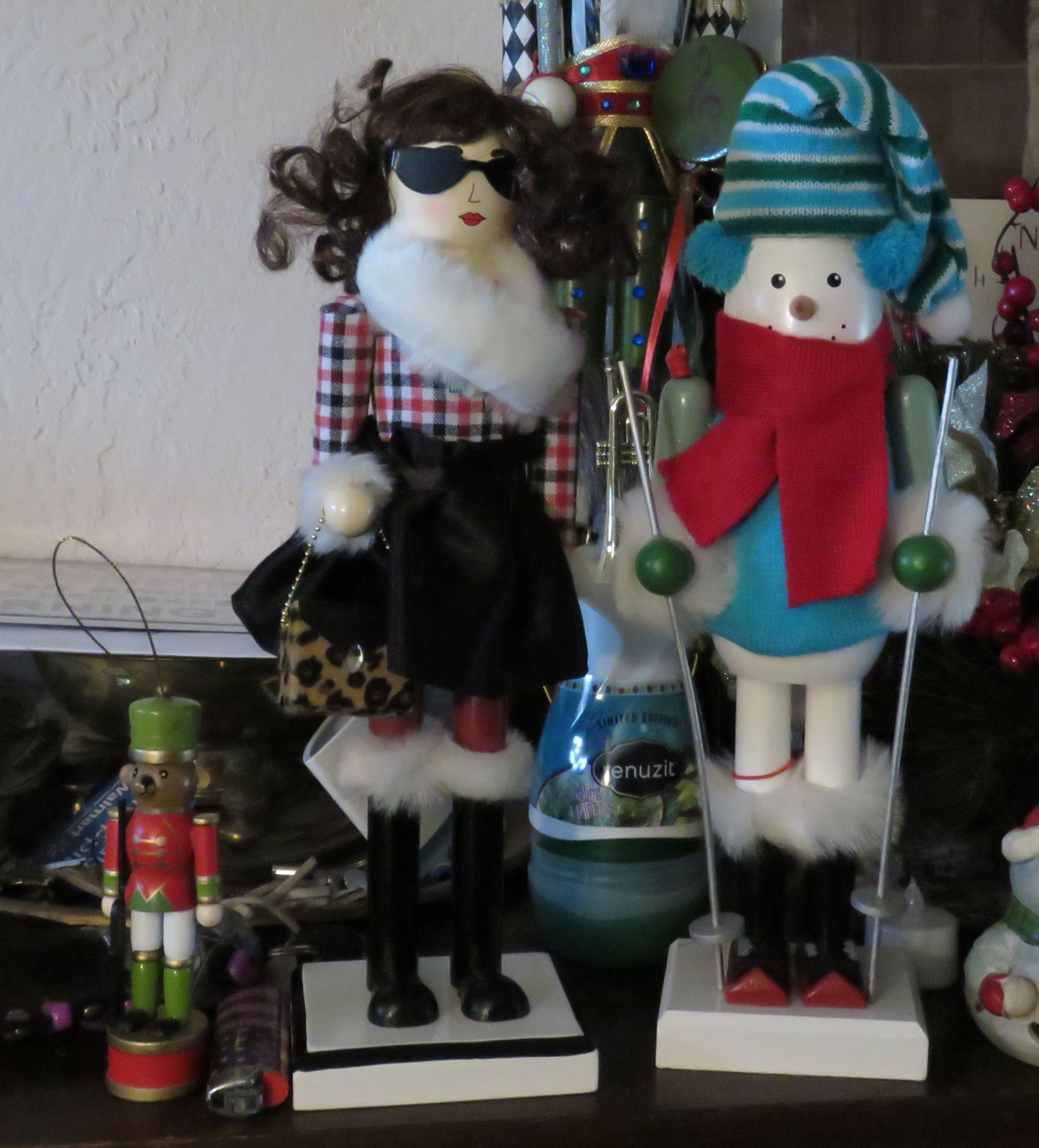 Some of my new nutcrackers for 2014 ! The girl is my first ...