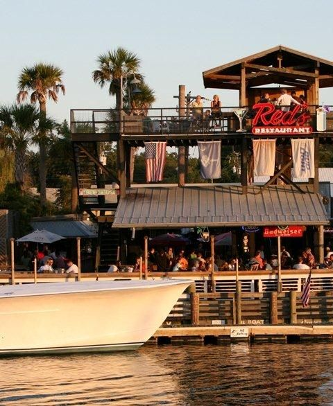Red S Ice House On Shem Creek Mount Pleasant Been There Done This So Many Times