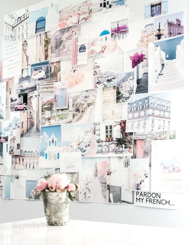 Pastel Wall Art Collage Kit Use Code Pin15 For 15 Off All Art
