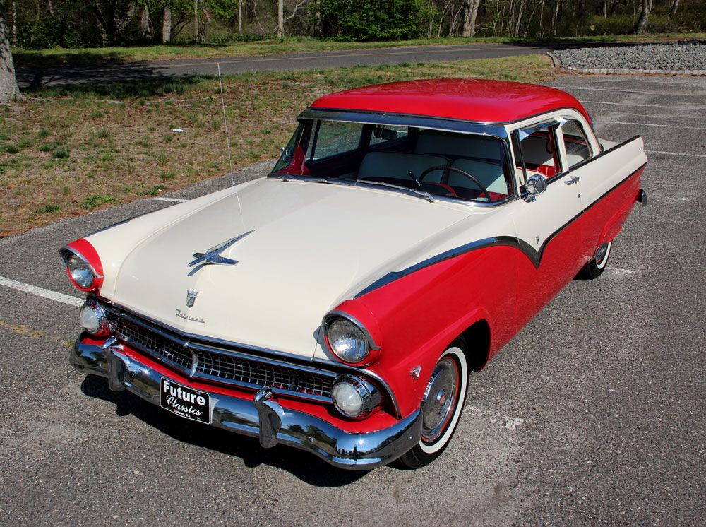 55 Ford Fairlane  Ford Yblock  Pinterest  Black Ford and