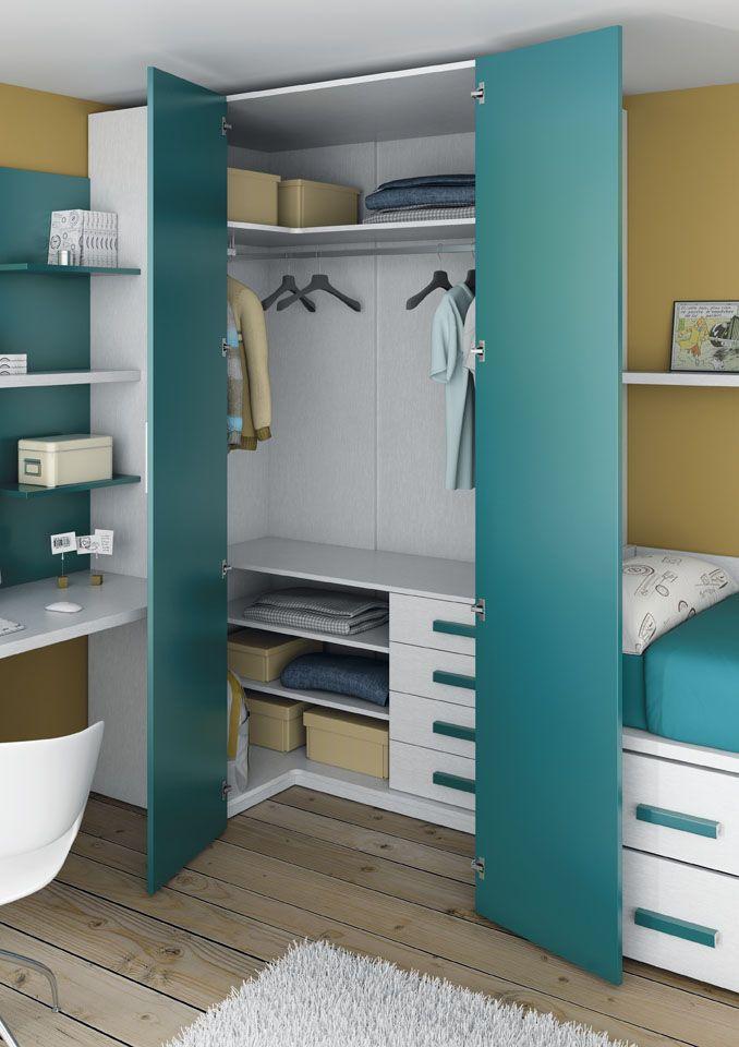 Ordenada o desordenada una habitaci n de muebles ros for Muebles de oficina juveniles