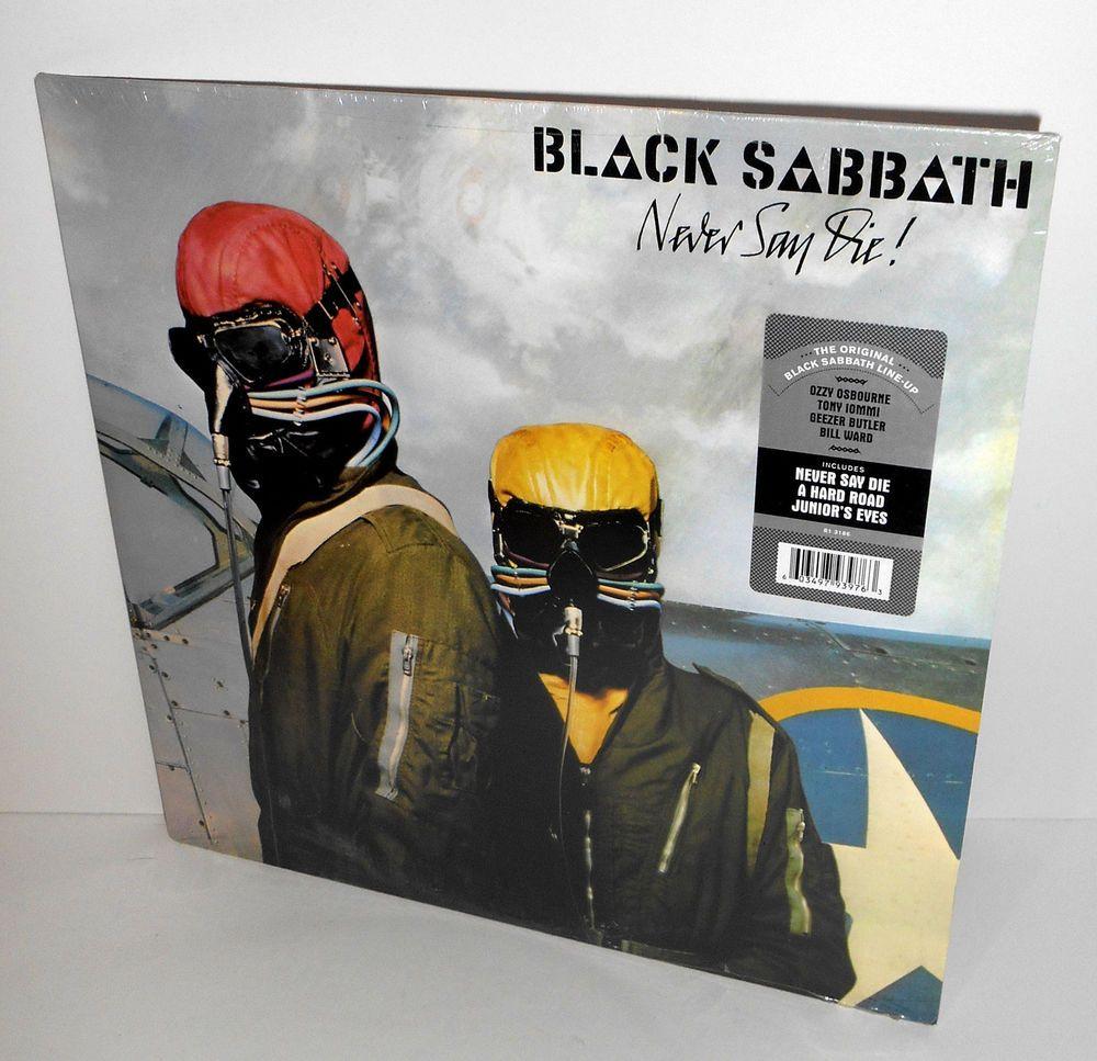 Black Sabbath Never Say Die Lp Sealed Vinyl Record Ozzy Osbourne Hardrockpsychedelicrock Black Sabbath Ozzy Osbourne Vinyl Records