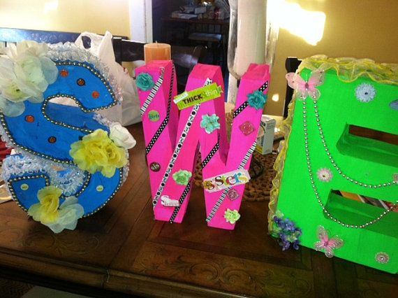 styrofoam letters 4 inches to 6 inches tall handmade handmadeholiday