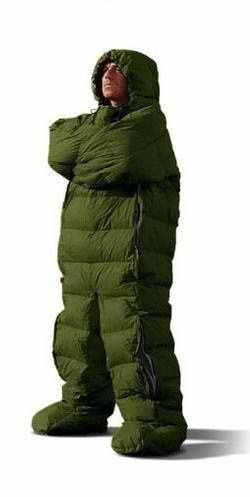 Sleeping Bag That Has Arms Legs Weird Funny Crazy