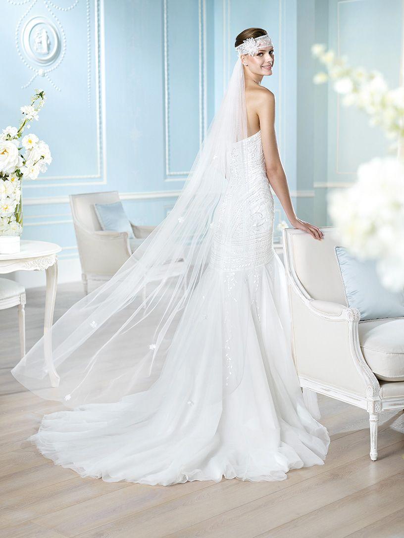 Vestido de novia, modelo Hainess de St. Patrick 2014  www.sanpatrickgranada.es