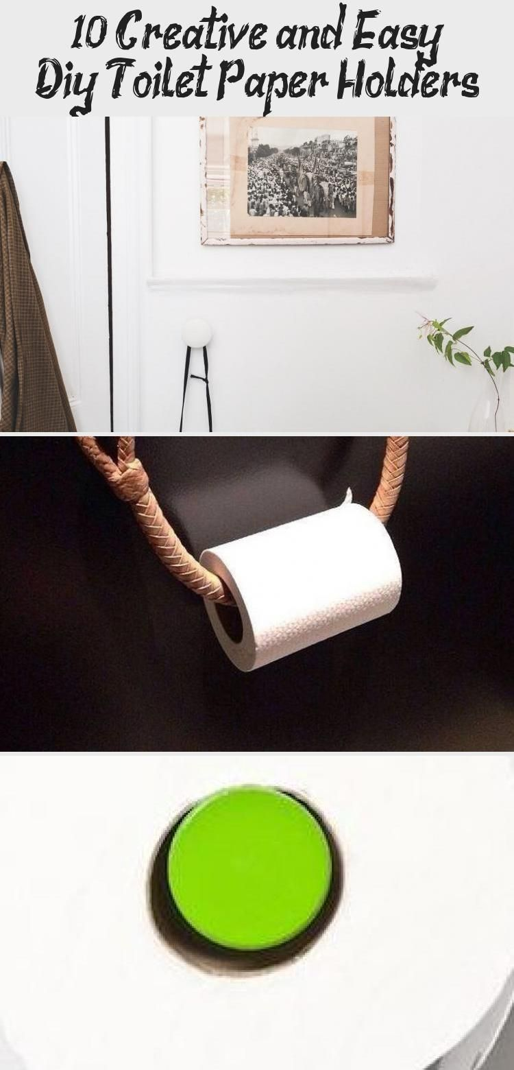 Photo of 10+ Creative (and Easy) Diy Toilet Paper Holders – Interior Design