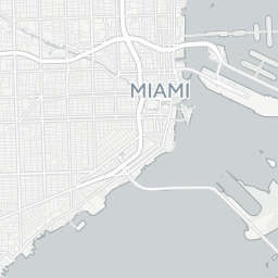 Miami, Florida (FL) Zip Code Map - Locations, Demographics - list of ...