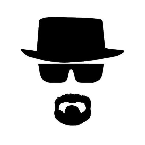Heisenberg Breaking Bad Walter White Vinyl Decal Sticker U Pick SIZE COLOR