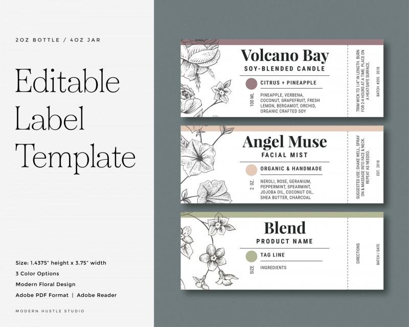 Microsoft Word Sticker Label Template Unique Color Pages Splendiy Labels Templates Photo Id Label Templates Essential Oil Labels Essential Oil Labels Printable