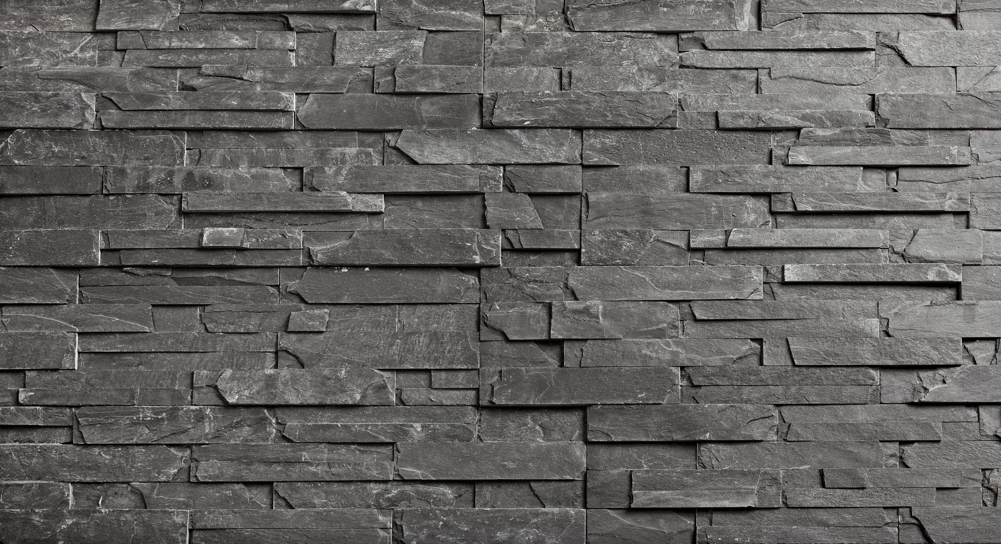Aitokivi dark stone saunan kiviseinä  talo  Pinterest