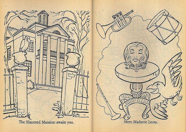 Disneyland Coloring Book