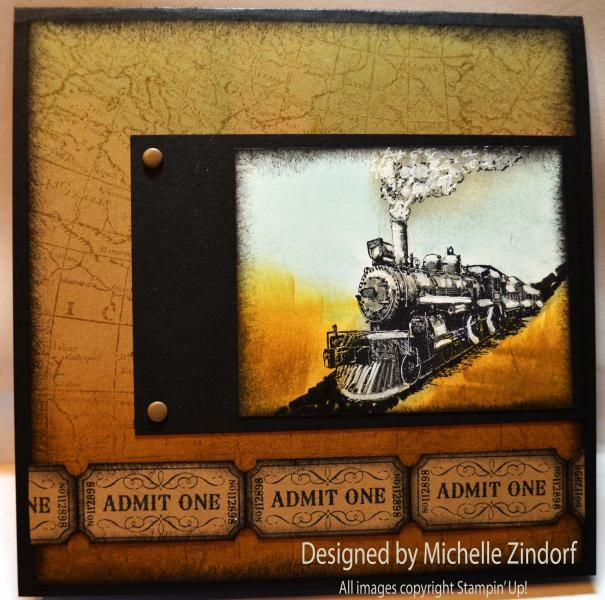 Traveler Train Mz By Zindorf Cards And Paper Crafts At