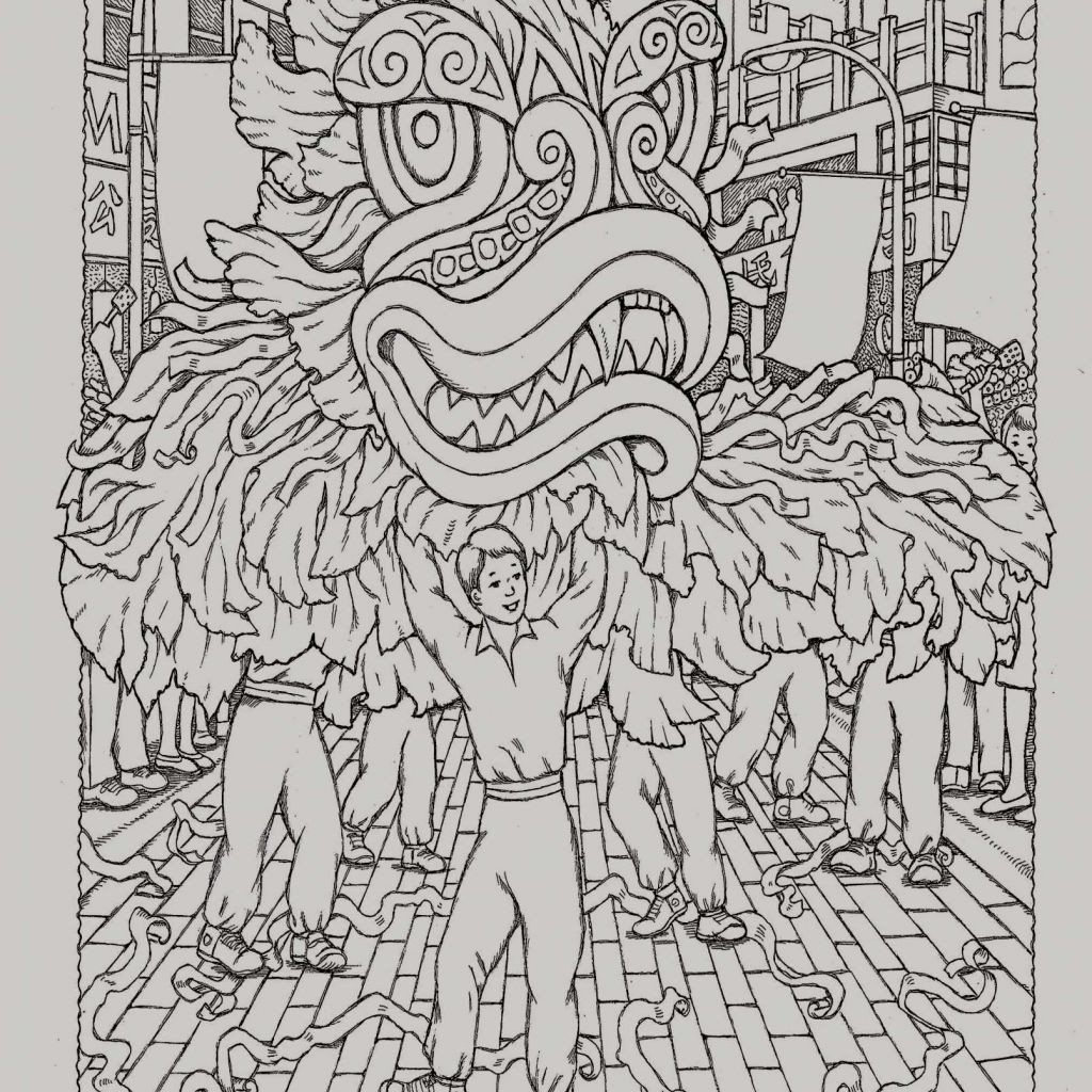 Chinese New Year Coloring Page Unique Coloring Pages