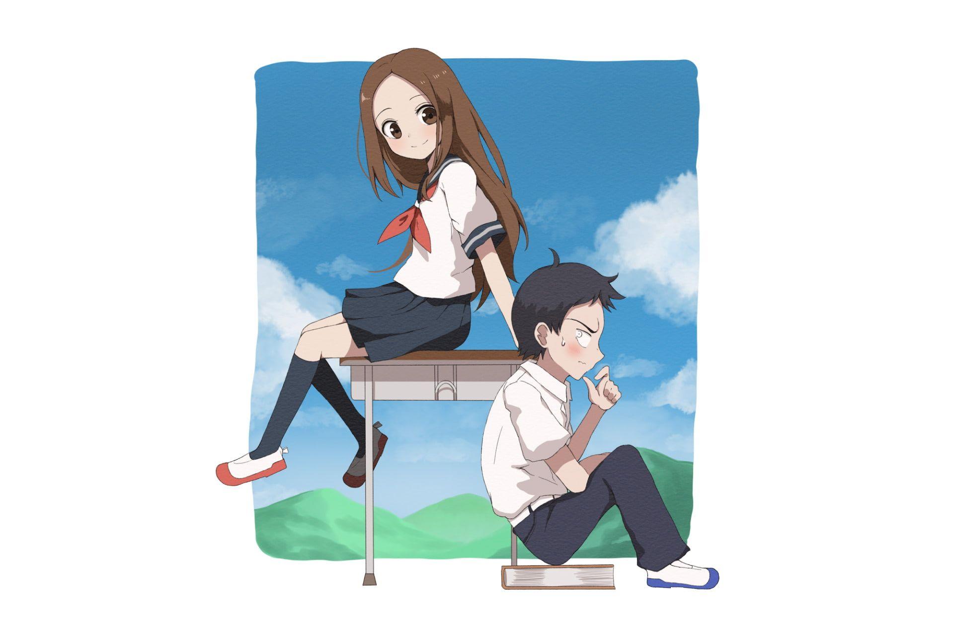 Anime Karakai Jouzu No Takagi San Nishikata Karakai Jouzu No