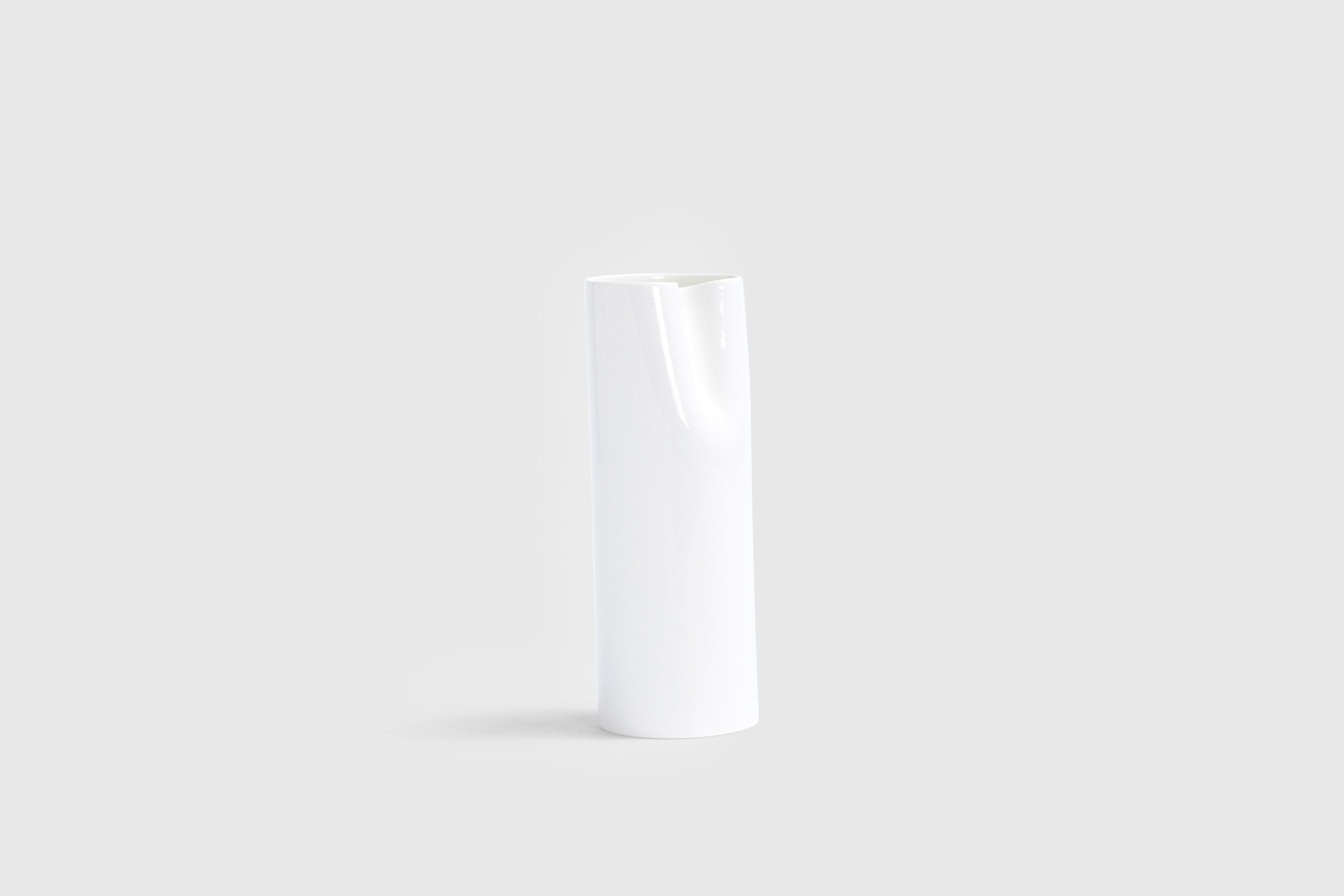 Bodo Sperlein White Sculptural Vases - Small