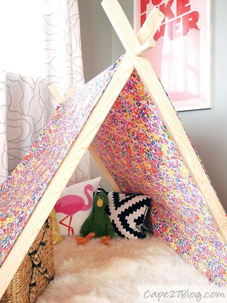 DIY Play Tent & DIY Play Tent | Tents Plays and Pillows