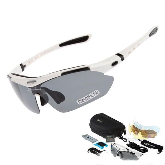 RockBros Polarized Cycling Outdoor Sport Sunglasses Goggles for Myopia Glasses