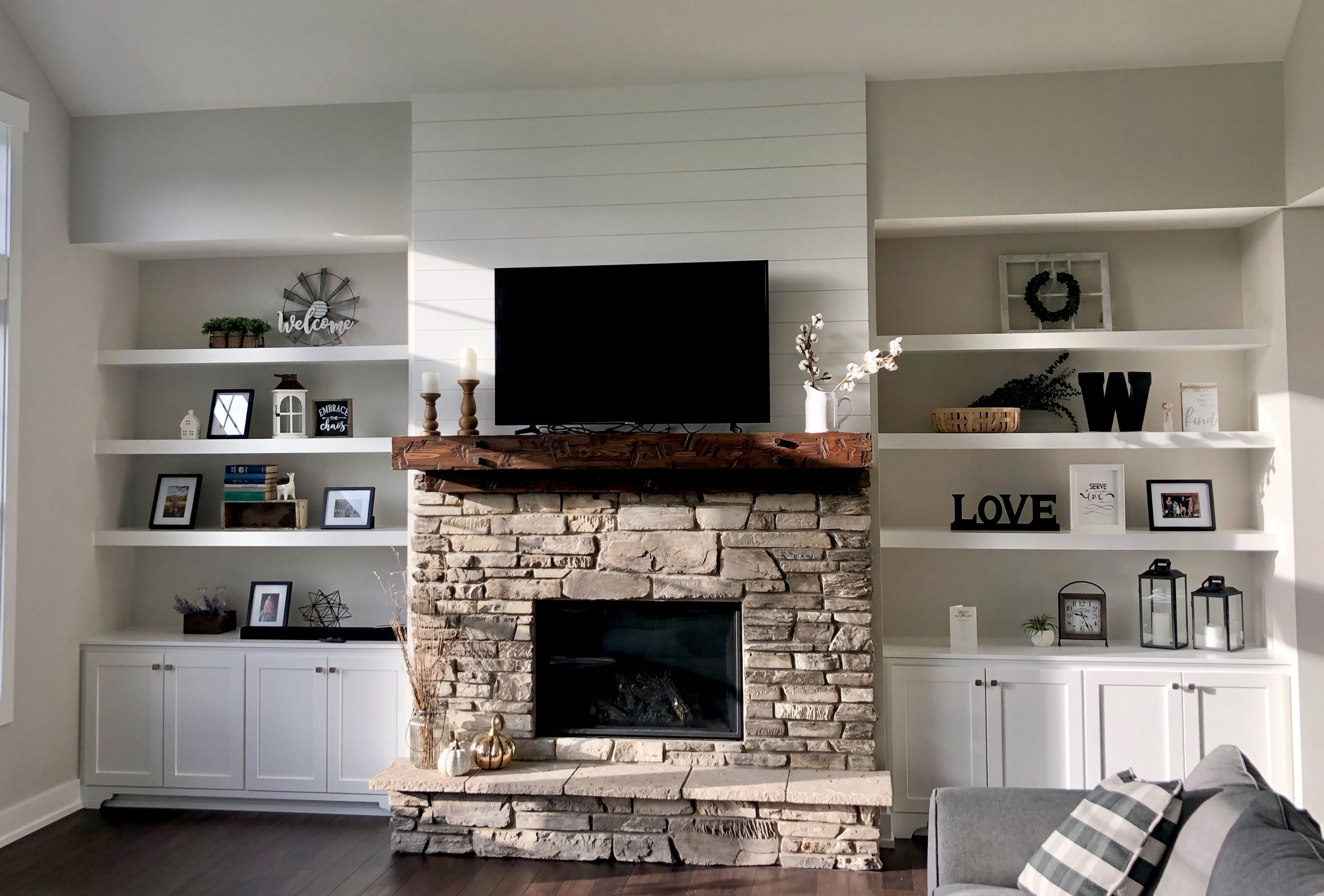 Built In Cabinets Built In Shelves Living Room Living Room Built Ins Fireplace Built Ins