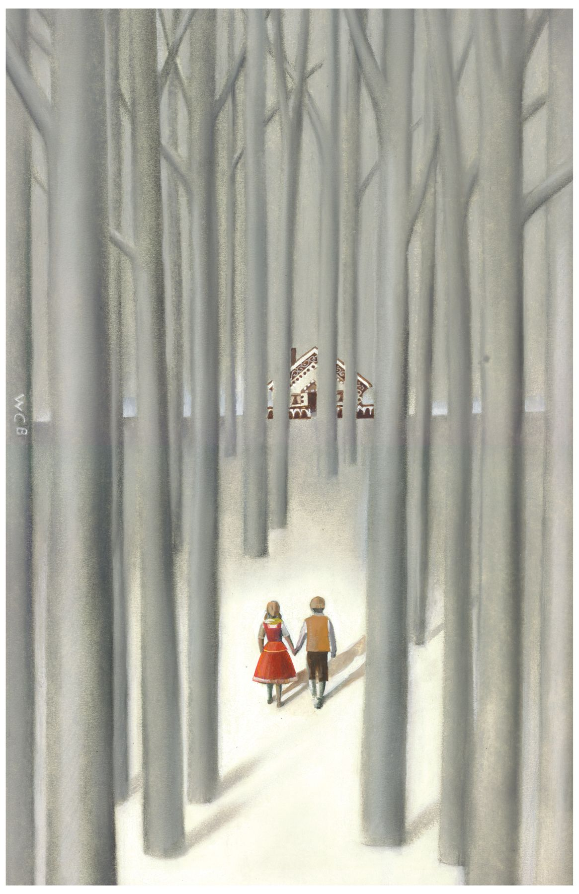 Hansel and Gretel - play poster from the University of Michigan, Bill Burgard