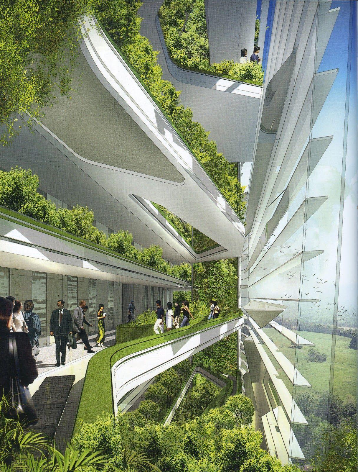 Future Architecture Ken Yeang Exemplars Weingart