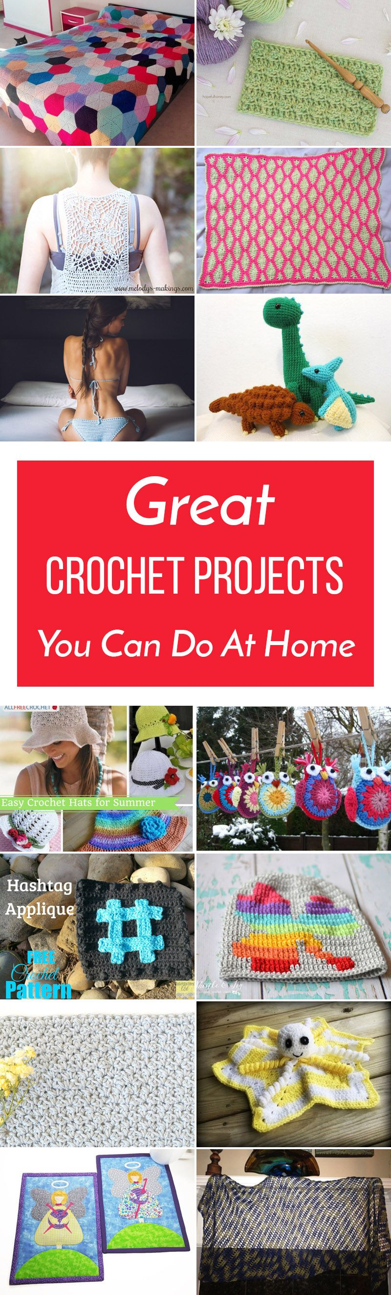26 Great Crochet Projects You Can Do At Home