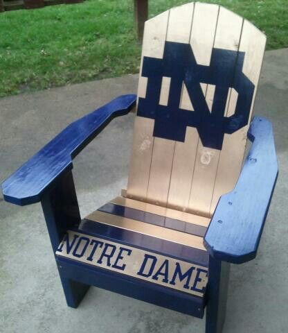 notre dame chair leap steelcase adirondack chairs pinterest