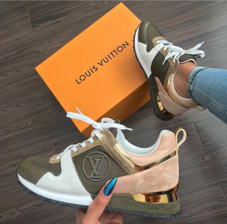 huge discount d5308 45add LV Lux Kicks Louis Vuitton Trainers, Louis Vuitton Heels, Louis Vuitton  Sneakers Women,