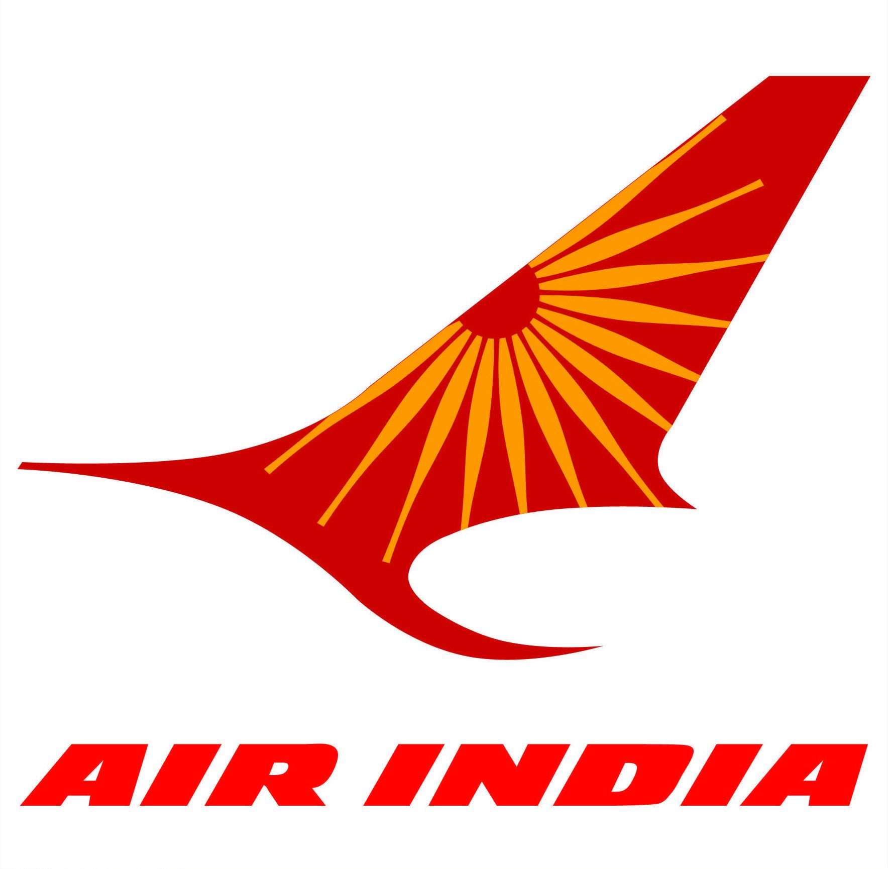 Air India logo INDIA Air india, Airline logo, India logo
