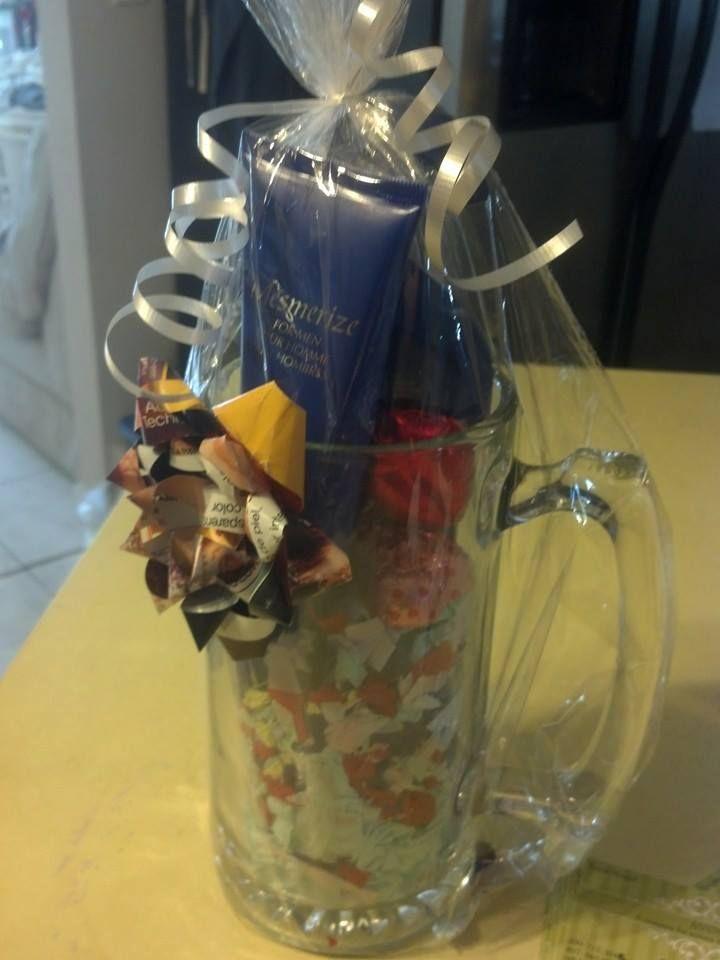 Mens Basket Beer Mug Idea Avon Gift Baskets Men Gift