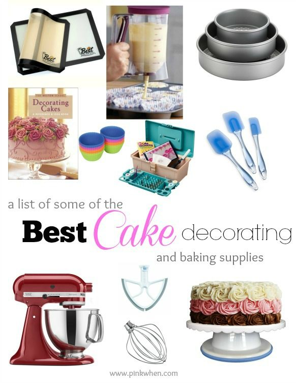 What Are The Best Cake Decorating And Baking Supplies Diy Ideas