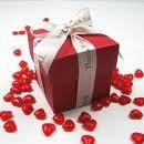 Gorgeous favour boxes