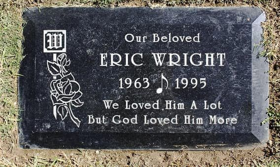 Eric Wright Eazy E From Nwa Rose Hills Memorial Park Ca
