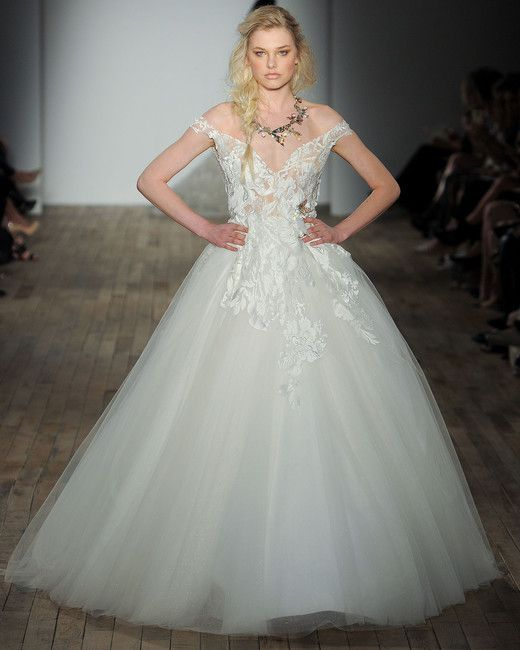 Lazaro Spring 2018 Wedding Dress Collection