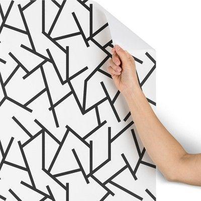 Removable Wallpaper Peel and Stick Wallpaper Self Adhesive Wallpaper Handwritten Text Pattern