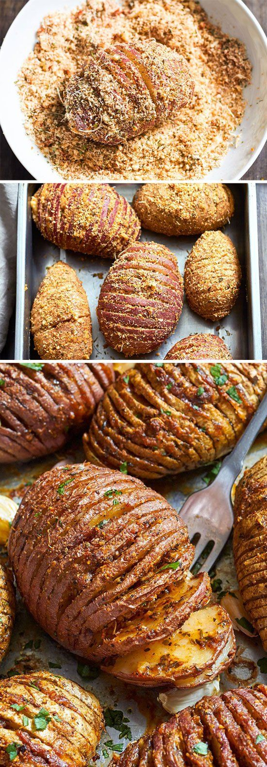 22 potato recipes hasselback